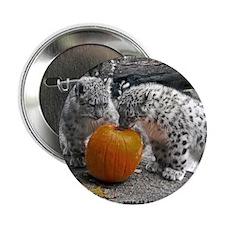 """LeopardPumpkin 2.25"""" Button"""