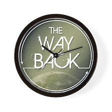 The Way Back Logo Wall Clock