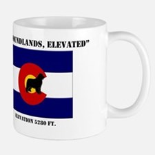 Colorado flag Newf Mug