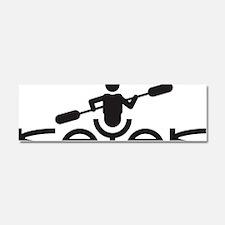 Kayak Logo Car Magnet 10 x 3