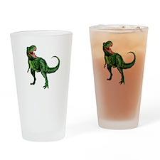 Rex Nom Nom Drinking Glass