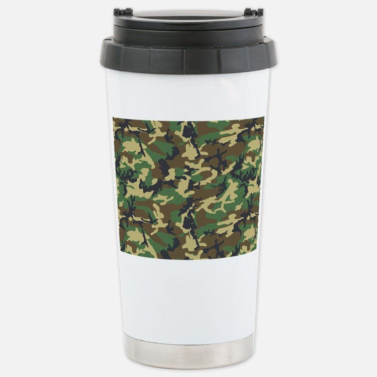 Realtree Camo Travel Coffee Mug