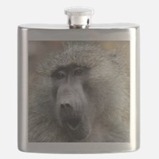 Olive Baboon Flask