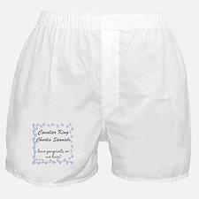 Cavalier Pawprints Boxer Shorts
