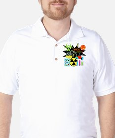 Mad Scientist Golf Shirt