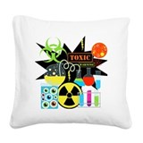 Mad science Square Canvas Pillows