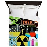 Mad scientist Queen Duvet Covers
