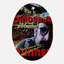 Allosaurus Bait Oval Ornament