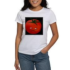 Sad Tomato, black Tee
