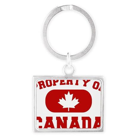 Property Of Canada Design Landscape Keychain