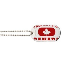 Property Of Canada Design Dog Tags