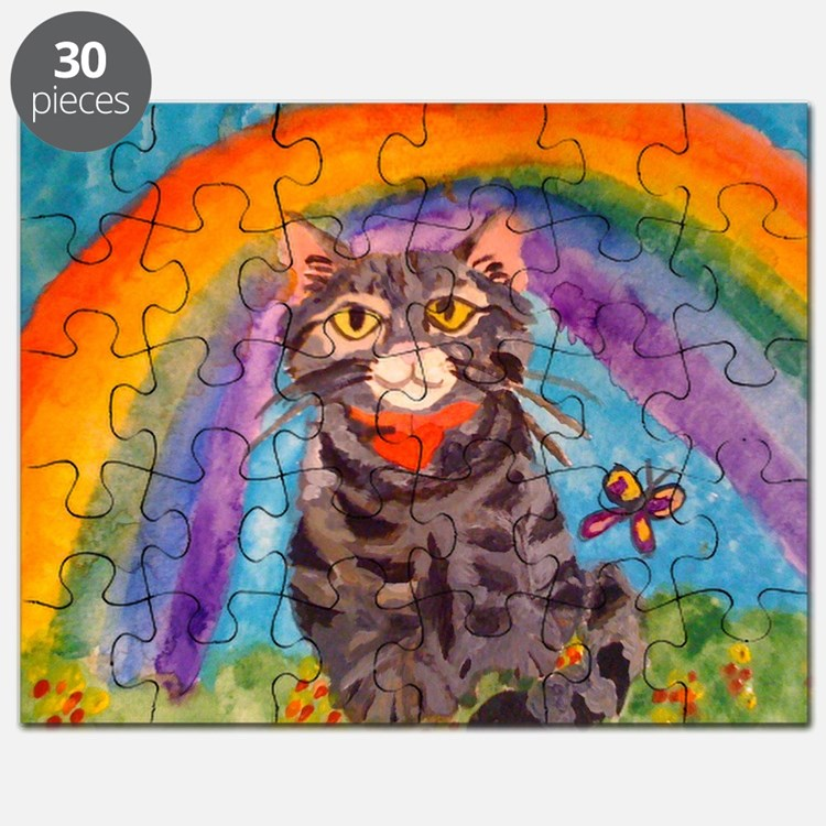 PRECIOUS CAT AT THE RAINBOW BRIDGE Puzzle