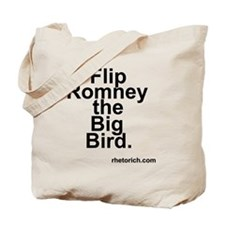 Flip Romney the Big Bird Tote Bag