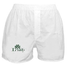 Irish: Celtic Shamrock' Boxer Shorts