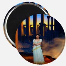 Goddess Athena in Ancient Greece Magnet