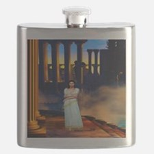 Goddess Athena in Ancient Greece Flask