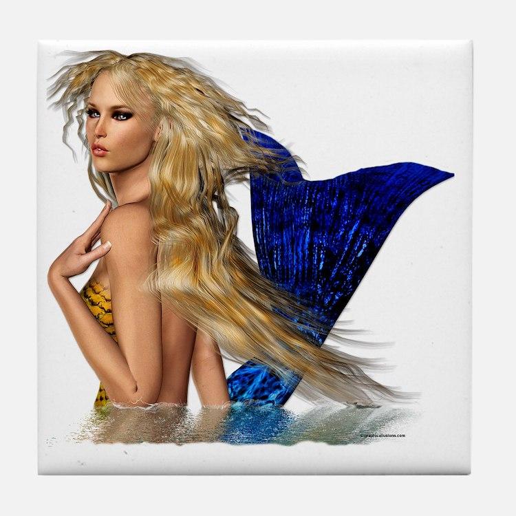 The Mermaid Tile Coaster