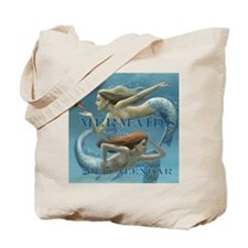 Mermaids Calendar 2013 uncovered Tote Bag