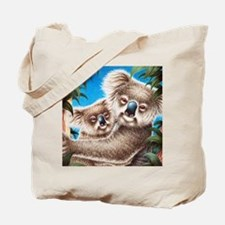 Queen Duvet Koalas Tote Bag