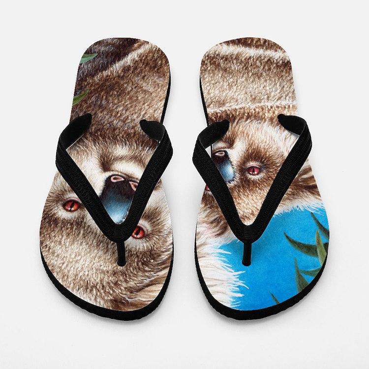 Queen Duvet Koalas Flip Flops