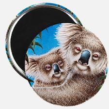 Queen Duvet Koalas Magnet