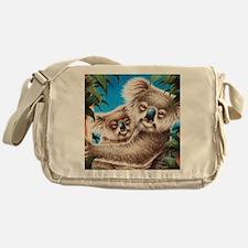 Queen Duvet Koalas Messenger Bag