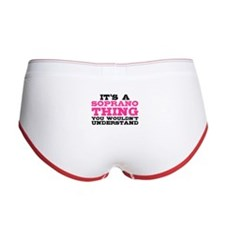 It's a Soprano Thing Women's Boy Brief