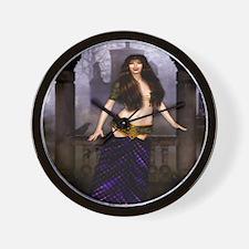 The Vampire Countess Wall Clock