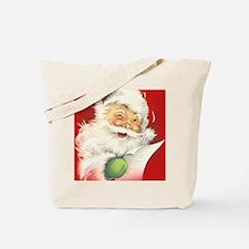 Santa Vintage Tote Bag
