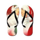 Santa Flip Flops