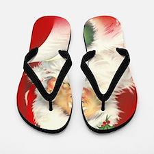 Santa Vintage Flip Flops