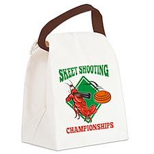 Crayfish Lobster Target Skeet Sho Canvas Lunch Bag