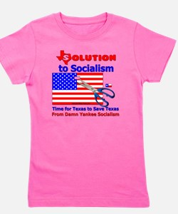 Solution to Socialism Girl's Tee