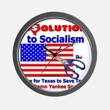 Solution to Socialism Wall Clock