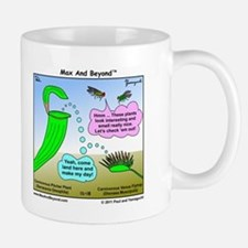 Venus Flytrap and Pitcher Plant Cartoon Mug