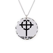 center of gravity cross Necklace