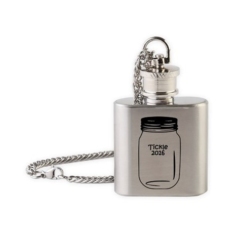 Tickle 2016 Jar Flask Necklace