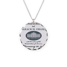 2013 inauguration day a Necklace Circle Charm