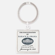 2013 inauguration day a Square Keychain