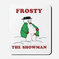 Christmas Showman Mousepad