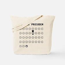 American presidents Tote Bag