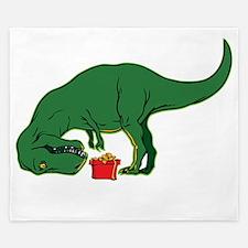 T-rex hates presents King Duvet