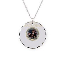 Inauuguration Day(blk) Necklace Circle Charm