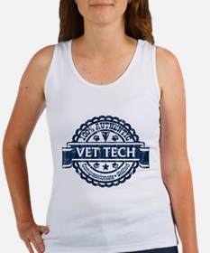 100% Authentic Vet Tech (Blue) Tank Top