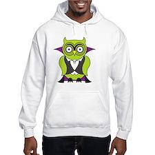 Halloween Vampire Owl Hoodie