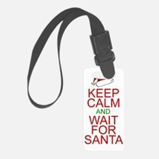 Keep calm Santa Luggage Tag