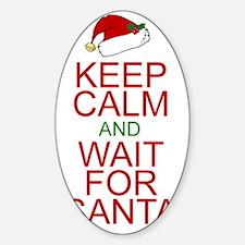 Keep calm Santa Decal