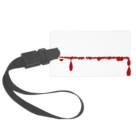 History Teacher Zombie Large Luggage Tag