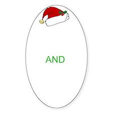 Keep calm Santa 2 Decal