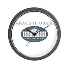 2013 inauguration day a(blk) Wall Clock